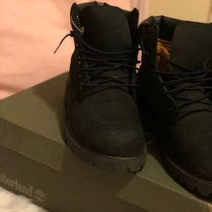 Timberland Shoes - Black Timberland Winter Boots